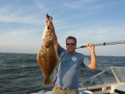 10 4 lb fluke Sept 17 2012 Hunter 2