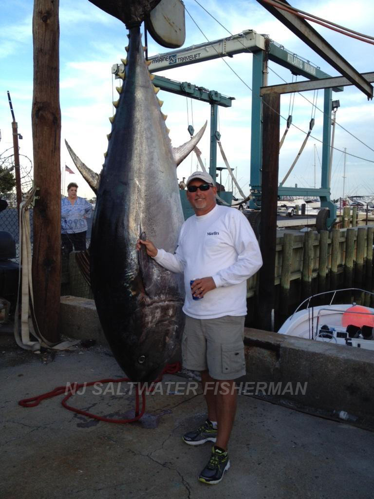 Catch of the week nj saltwater fisherman your 1 for Tuna fishing nj